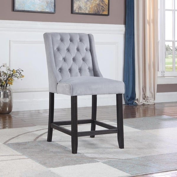 Shop Best Master Furniture 25 Inch Upholstered Bar Chair Free