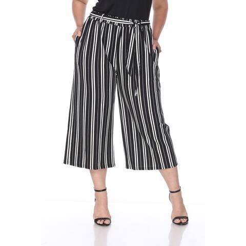 White Mark Plus Size Women's Gaucho Pants