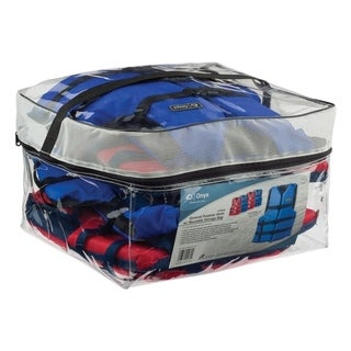 Onyx 1032 Adult General Purpose 4-Pack Life Jacket w/ Reusable Storage Bag