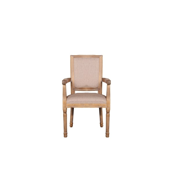 Shop Dining Room Chairs: Shop Rustic Distressed Dining Room Chair W/ Armrests