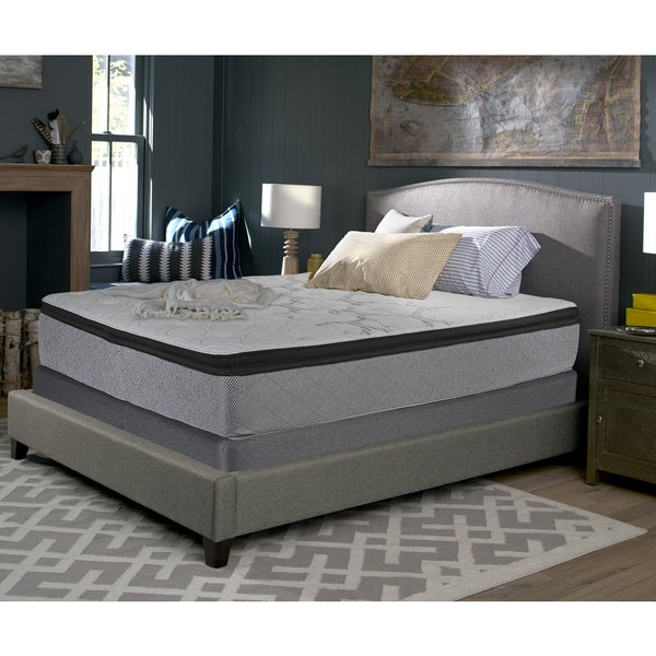 king size mattress set simmons sealy accomplished 14inch plush euro pillowtop kingsize mattress set shop