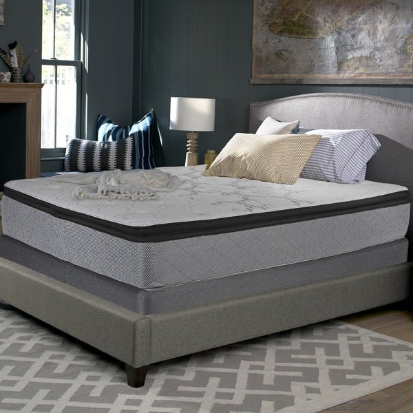 Queen Mattress Sets On Sale: Shop Sealy Accomplished 14-inch Plush Euro Pillowtop Queen