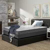 Sealy Treasured 11-inch Plush Queen-size Mattress Set