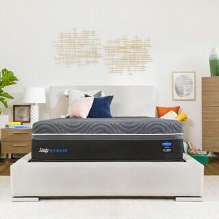 Sealy Hybrid Premium 15-inch Ultra Plush King-size Mattress Set (2 options available)