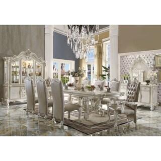 ACME Versailles Dining Table, Bone White (1Set/2Ctn)