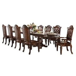 ACME Vendome Dining Table w/Double Pedestal, Cherry (1Set/3Ctn)