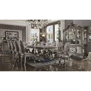 ACME Versailles Hutch & Buffet, Antique Platinum (1Set/2Ctn)
