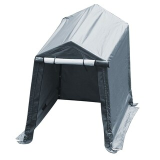 Abba Patio Storage Shelter 7 x 12- Feet Outdoor Shed Heavy Duty Canopy