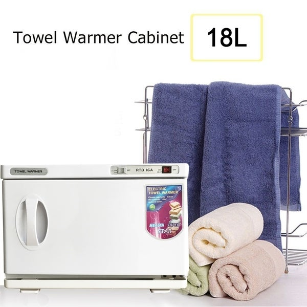 BarberPub Hot Towel Warmer Disinfection Cabinet UV Sterilizer
