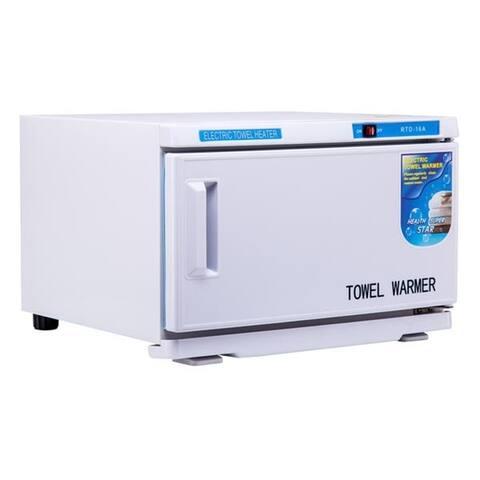 BarberPub Hot Towel Warmer Disinfection Cabinet UV Sterilizer 16L
