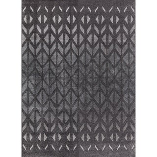 Mod-Arte Twilight Collection TL11-102810 Charcoal area rug - 7'8 x 10'2