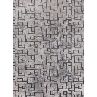 Mod-Arte Twilight Collection TL10-102810 Grey area rug - 7'10 x 10'2
