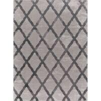 Mod-Arte Twilight Collection TL08-10246 Grey area rug - 3'9 x 5'2