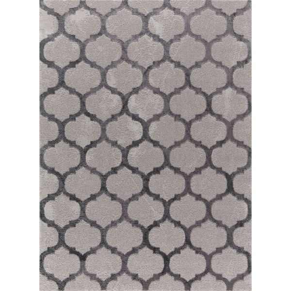 Collection Tl01 102810 Grey Area Rug