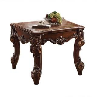 ACME Vendome II End Table, Cherry