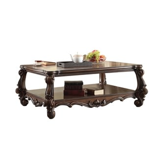 ACME Versailles Coffee Table, Cherry Oak
