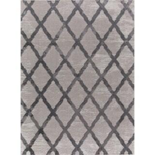 Mod-Arte Twilight Collection TL08-102810 Grey area rug - 7'10 x 10'2
