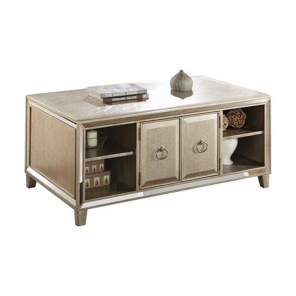 Lift Top Coffee Table Antique: Shop ACME Voeville Coffee Table W/Lift Top, Antique Gold