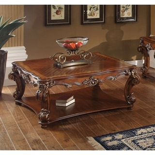 ACME Vendome Cherry-finished Square Coffee Table
