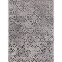 "Mod-Arte Twilight Collection TL09-10258 Grey area rug - 5'2"" x 7'2"""