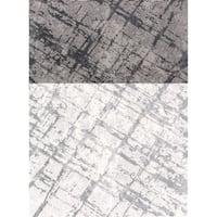 Mod-Arte Twilight Collection TL07-102810 Grey area rug - 7'8 x 10'2