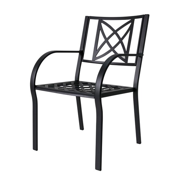 Paracelsus Outdoor Patio Aluminum Chairs Set Of 2