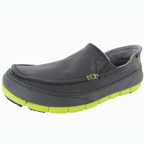 525d90c1905 Crocs Mens Stretch Sole Slip On Loafer Shoes