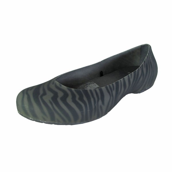 c7b777a34 Shop Crocs Womens Thermalucent Zebra Print Flat Shoes