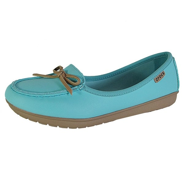 8a8917baf50add Shop Crocs Womens Wrap ColorLite Ballet Flat Shoes