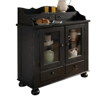Broyhill Attic Heirlooms Black Dining Chest