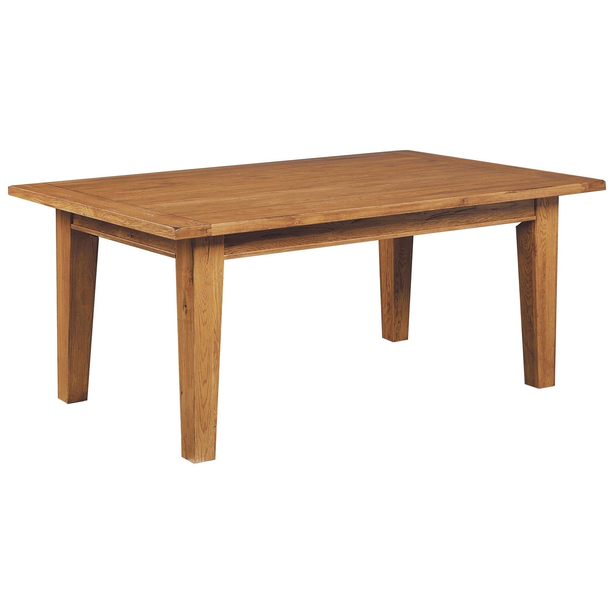Broyhill Attic Heirlooms Rectangular Leg Dining Table Brown Overstock 21620765