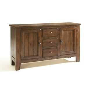 Broyhill Attic Rustic Oak China Base