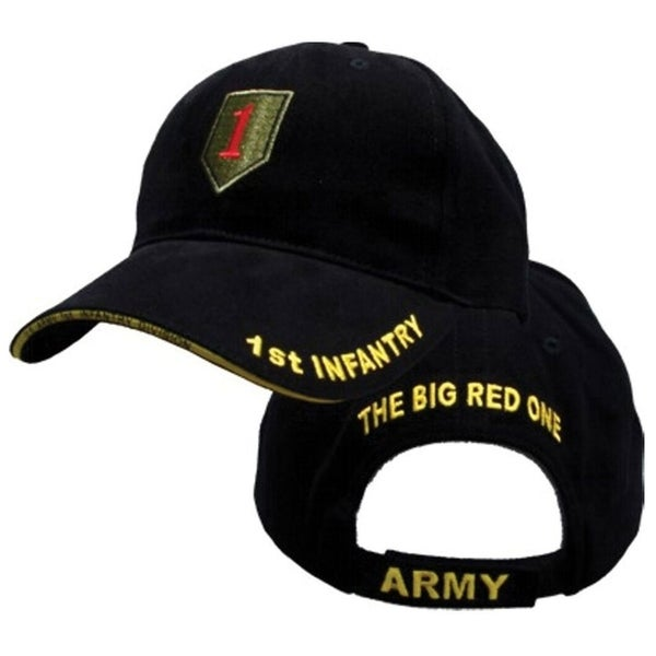 Black Military Ball Caps