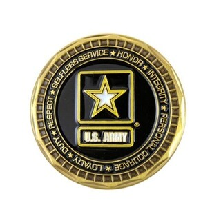 US Army Ranger Double Sided Collectible Military Challenge Coin