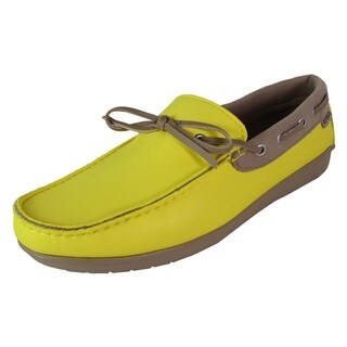 Crocs Womens Wrap ColorLite Loafer Shoes, Sunshine/Tumbleweed