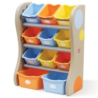 Step2 Fun Time Room Organizer - Blue/Orange
