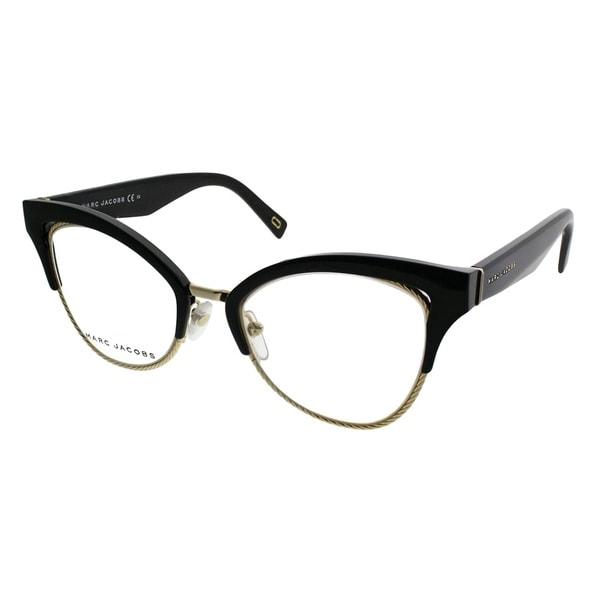 1228b99836782 Shop Marc Jacobs Cat-Eye MARC 216 807 Women Black Frame Eyeglasses ...