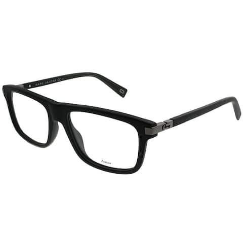 Marc Jacobs Rectangle MARC 178 RZZ Unisex Matte Black Dark Ruthenium Frame Eyeglasses