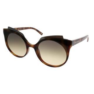 b3d4e13b4d2 Marc Jacobs Cat-Eye MARC 105 S N36 GG Women Havana Frame Brown Gold