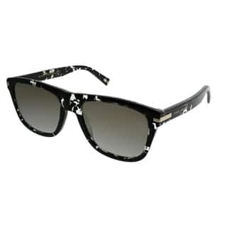 Marc Jacobs Rectangle MARC 185 s 9WZ 9F Unisex Crystal Black Havana Frame  Gold Mirror 7c05ce6013dd