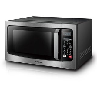 Toshiba 1.5-Cubic Foot Stainless Steel Convection Microwave