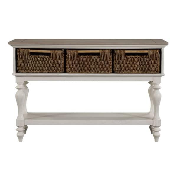 Shop Broyhill Ashgrove Sofa Table Free Shipping Today