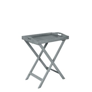 Seacrest Gray Removable Tray Table