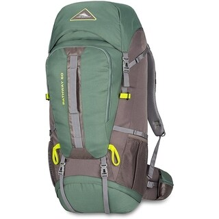 High Sierra Pathway 60L Backpack Pine/Slate/Chartreuse