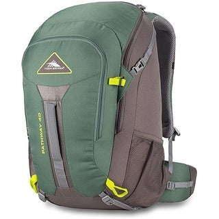 High Sierra Pathway 40L Backpack Pine/Slate/Chartreuse
