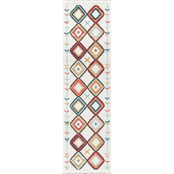 """Momeni Monaco Polyester and Polypropylene Machine Made Multi Runner - 2'3"""" x 7'6"""" Runner"""