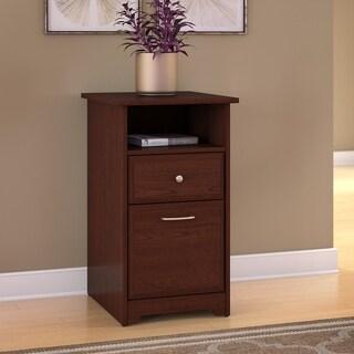 Bush Furniture Cabot 2 Drawer File Cabinet in Harvest Cherry