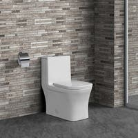 Swiss Madison Concorde® One Piece Square Toilet Dual Flush 0.8/1.28 gpf