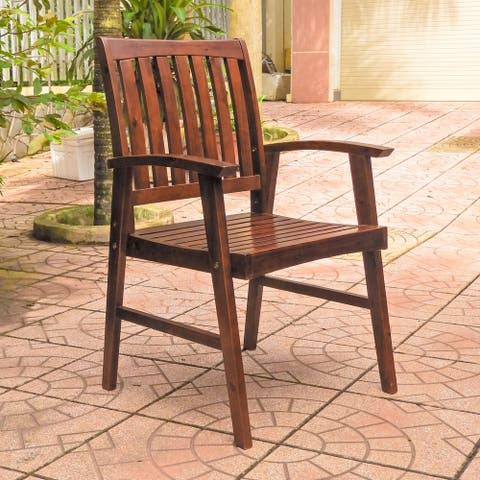 International Caravan Highland Patio Dining Chair (Set of 2)