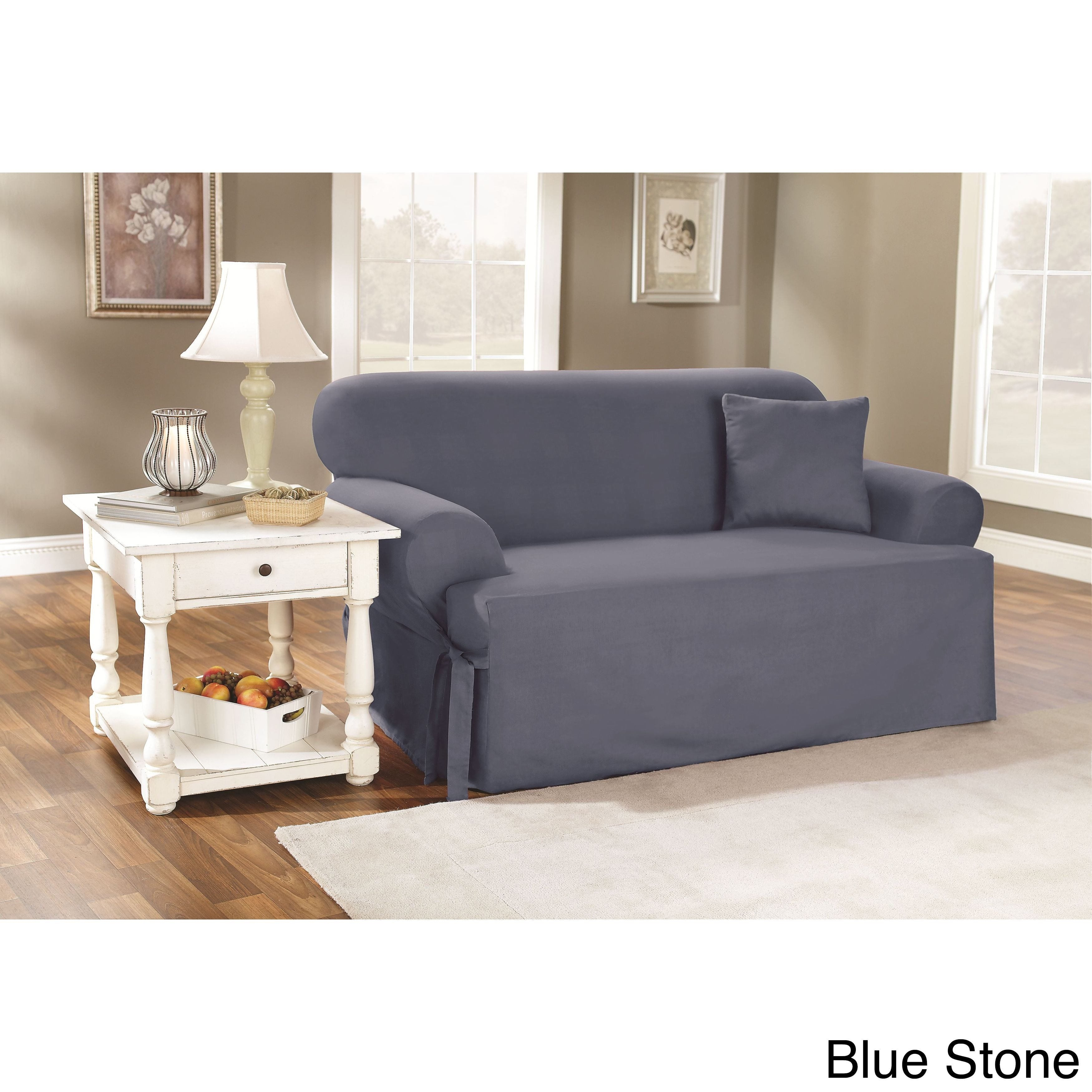 Blue Slipcovers Furniture Covers Find Great Home Decor Deals Ping At